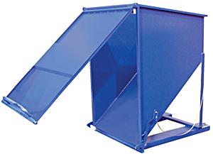 Vestil C-HOP-300 Steel Chute Hopper