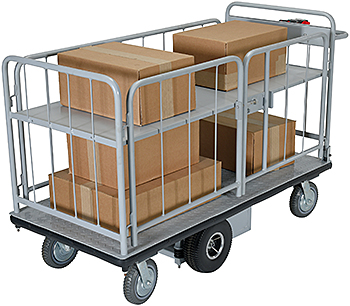 Vestil EMHC-2860-3 Electric Platform Cart