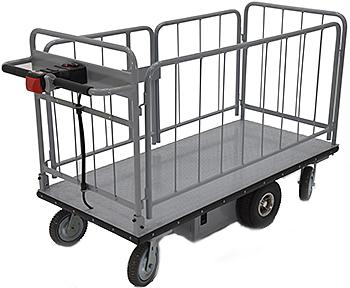 Vestil EMHC-2860-2 Electric Platform Cart