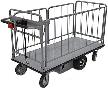 Vestil EMHC-2860-2 Electric Platform Cart