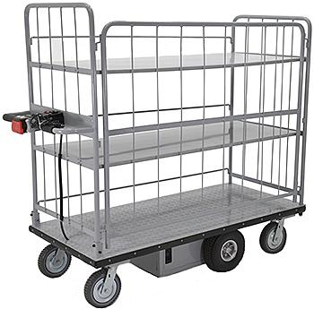 Vestil EMHC-2860-4 Electric Platform Cart