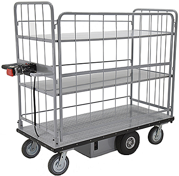 Vestil EMHC-2860-4 Electric Platform Cart