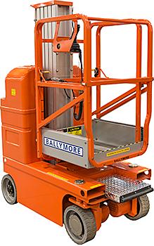 Ballymore DVML-18 vertical mast lift
