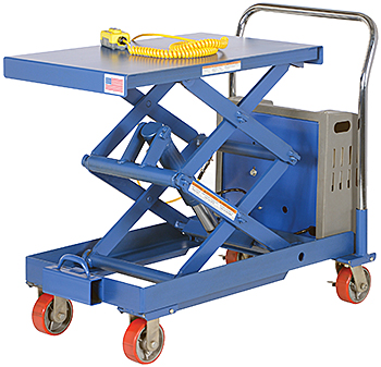 Vestil  CARTD-1000-2033-DC  Electric Lift Cart