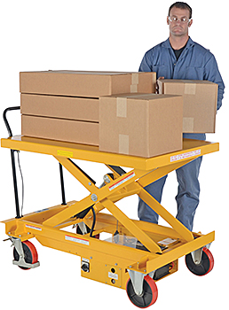 Vestil CART-1000-WD-DC Electric Lift Cart