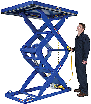 Vestil EHLTD Double Scissor Lift Table
