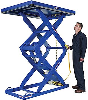 Vestil EHLTD Double Scissor Lift Table