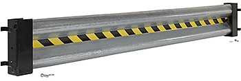 Vestil GR-D-8 Galvanized Guard Rail
