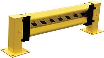 Vestil GR-H2R-DI-6-YL Guard Rail