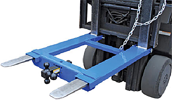 Vestil HOOK-BASE-44 Forklift Towing Attachment