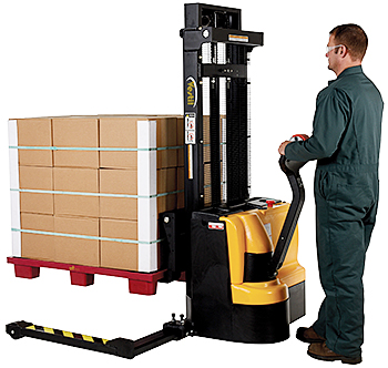 Vestil S-101-AA-DM Electric Pallet Stacker