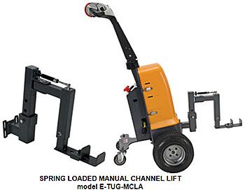 Vestil E-TUG-MCLA Spring Loaded Manual Channel Lift