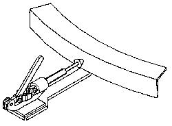 Vestil CA-HBK - Manual Hand Brake