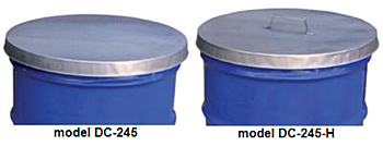 Vestil DC-245 Galvanized Steel Drum Cover