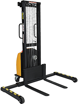 Vestil VWS-770-AA-DC Electric Winch Pallet Stacker