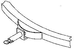 Vestil CA-HOD - Hand Operated Locking Detent