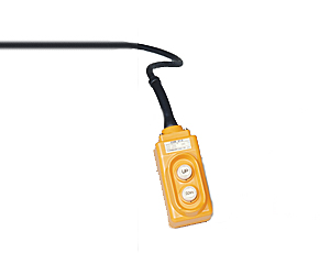 Optional RC-10 Remote Hand Pendant Control on 10' Coil Cord