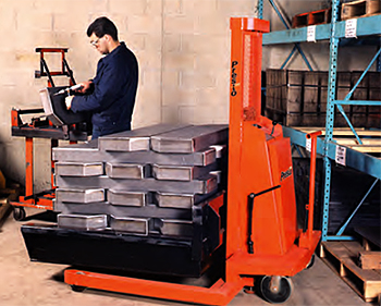 WPS Series Electric Pallet Stacker