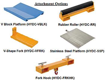 Vestil HYDC Attachments