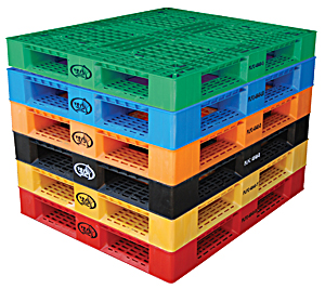 Vestil PLP2- 4840- Series Plastic Pallets