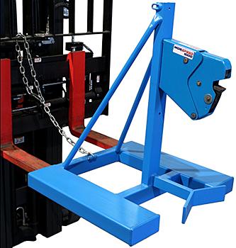 Morse 286-1 Forklift Drum Grabber