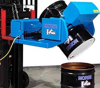 Morse 290F Forklift Drum Handler