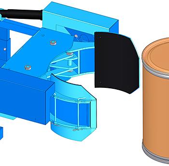 Morse 6172-P Grip Pads For Plastic or Fiber Drums