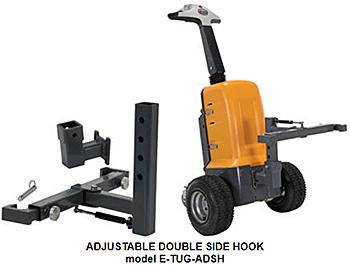 Vestil E-TUG-ADSH Adjustable Double Side Hook