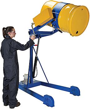 Vestil HDC-305-60 Portable Drum Rotator