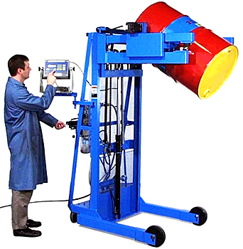 Morse 515-N Portable Drum Dispenser With Scale