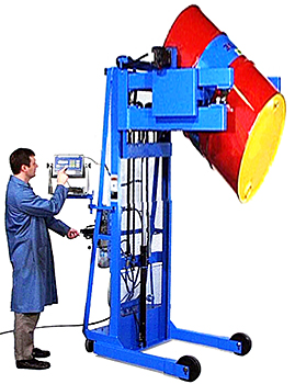 Morse 525-N Portable Drum Dispenser With Scale