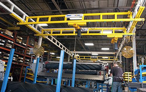 ree Standing Bridge Crane
