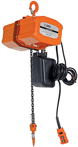 Vestil H-2000-3 1 Ton Electric Chain Hoist