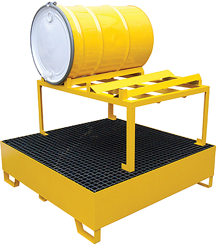 Vestil HSRB-YL-2 Drum Spill Containment Basin
