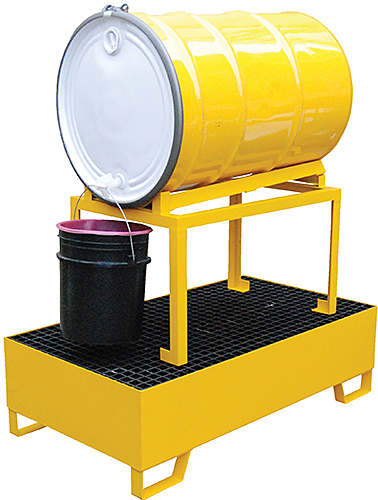 Vestil HSRB-YL-1 Drum Spill Containment Basin