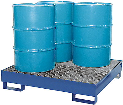 Vestil VRSB-4 Drum Spill Containment Basin