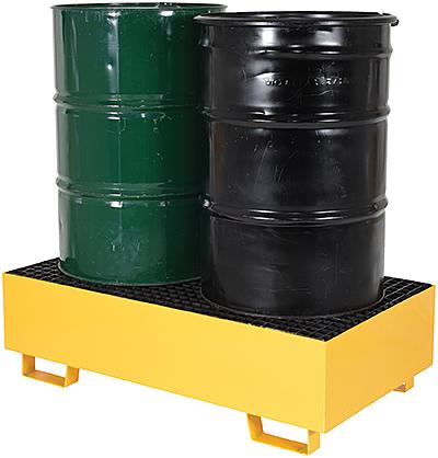 Vestil VRSB-YL-2 Drum Spill Containment Basin