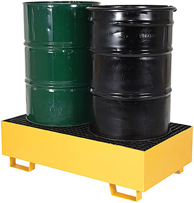Vestil VRSB-YL-2 Drum Spill Containment Basin