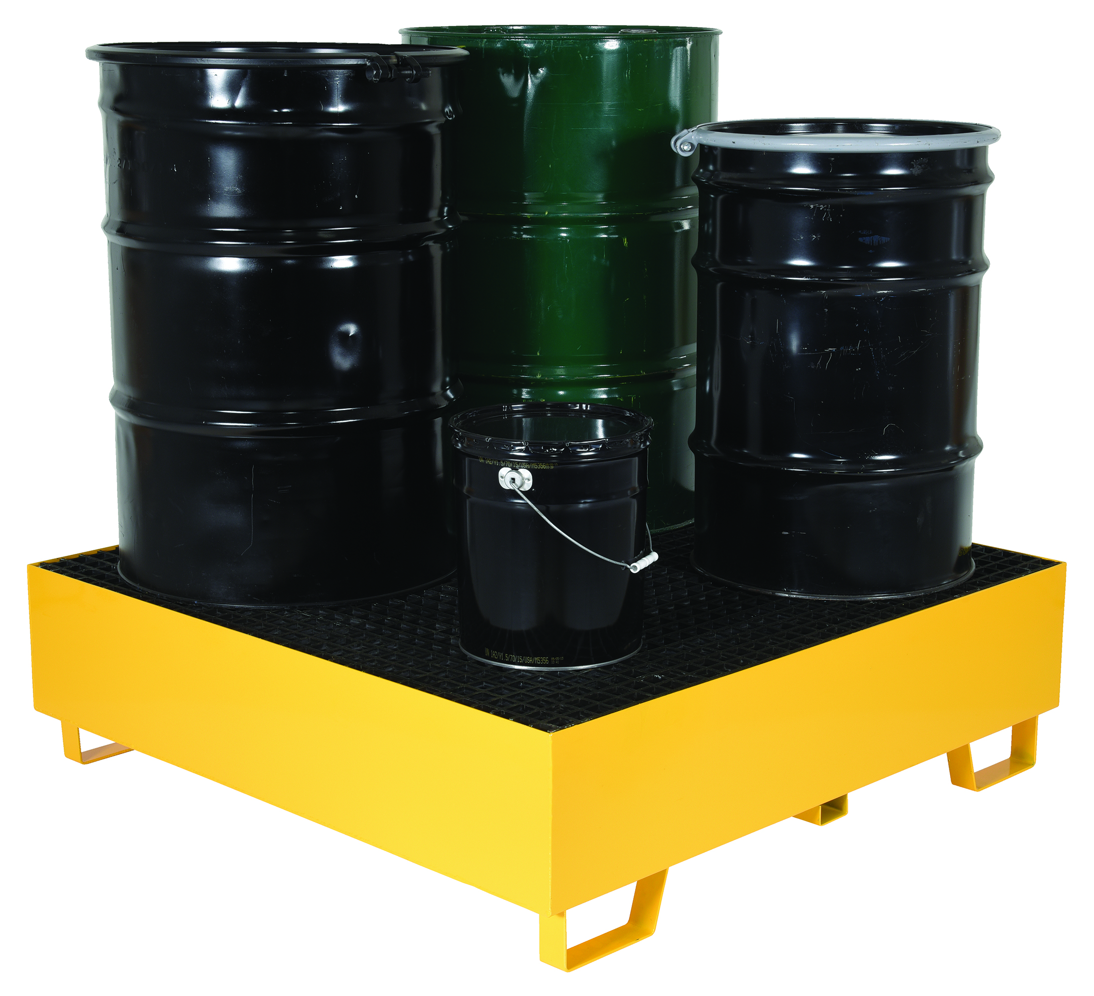 Vestil VRSB-YL-4 Drum Spill Containment Basin