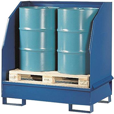 Vestil VSRB-WS-2 Drum Spill Containment Pallet
