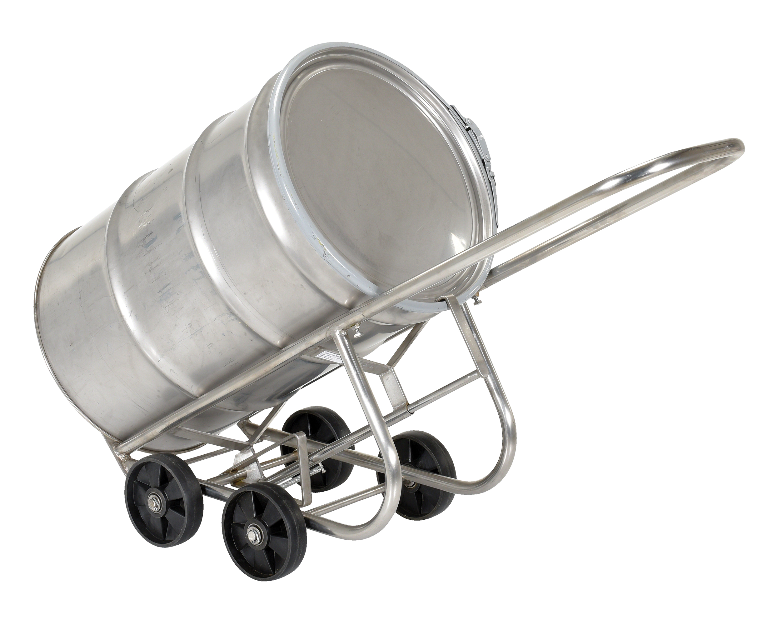 Vestil DBT-SS Stainless Steel Drum Cart