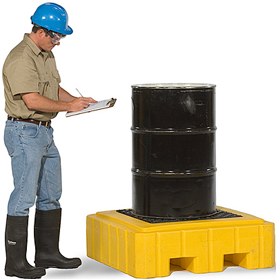 Vestil DR-1-UT Drum Spill Containment Pallet