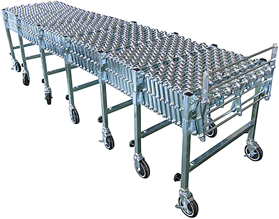 Vestil EXCNV-S-24-24 Roller Conveyor