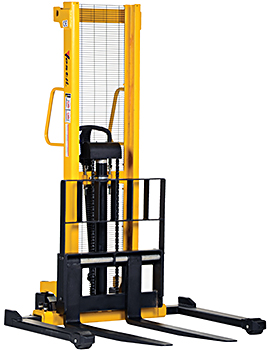 Manual forklift manual pallet stacker hot sale narrow aisle low.