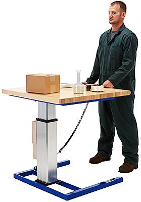 Vestil LAW-3636 Electric Height Adjustable Table