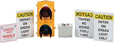 Vestil DTS-10 Loading Dock Traffic Light System