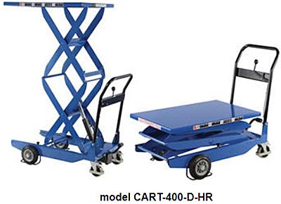 Vestil CART-400-D-FR Lift Cart