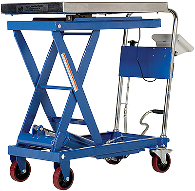 Vestil CART-500-SCL Lift Cart With Scale