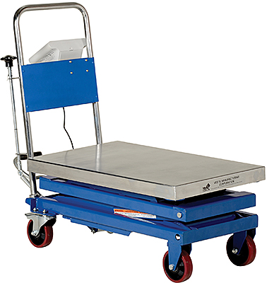 Vestil CART-1000-SCL Lift Cart With Scale