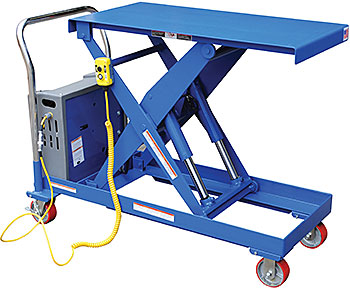 Vestil CART-2000-4242-DC Electric Lift Cart